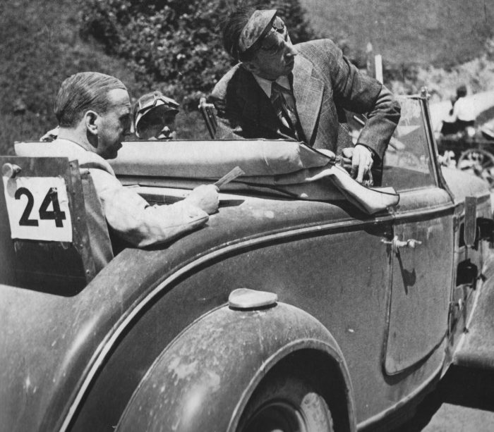 Bolo an der Tour de Suisse in den 40ern