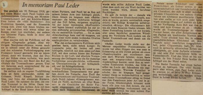in memoriam paul leder