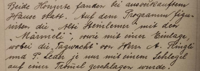 protokoll 1918 einhändertagwacht a. ringli p. leder